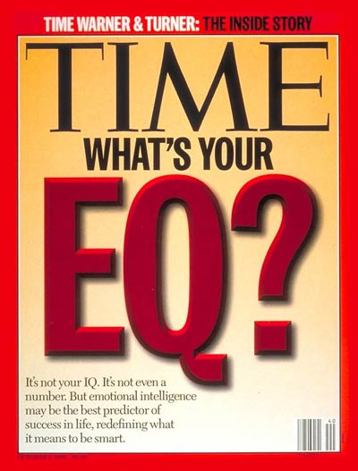 Cover of TIME Magazine with headline: What's Your EQ?